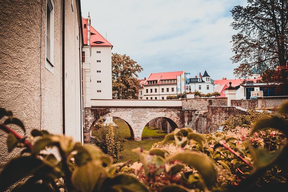 Joy Stone, Castle, Historically, Freiberg, Building
