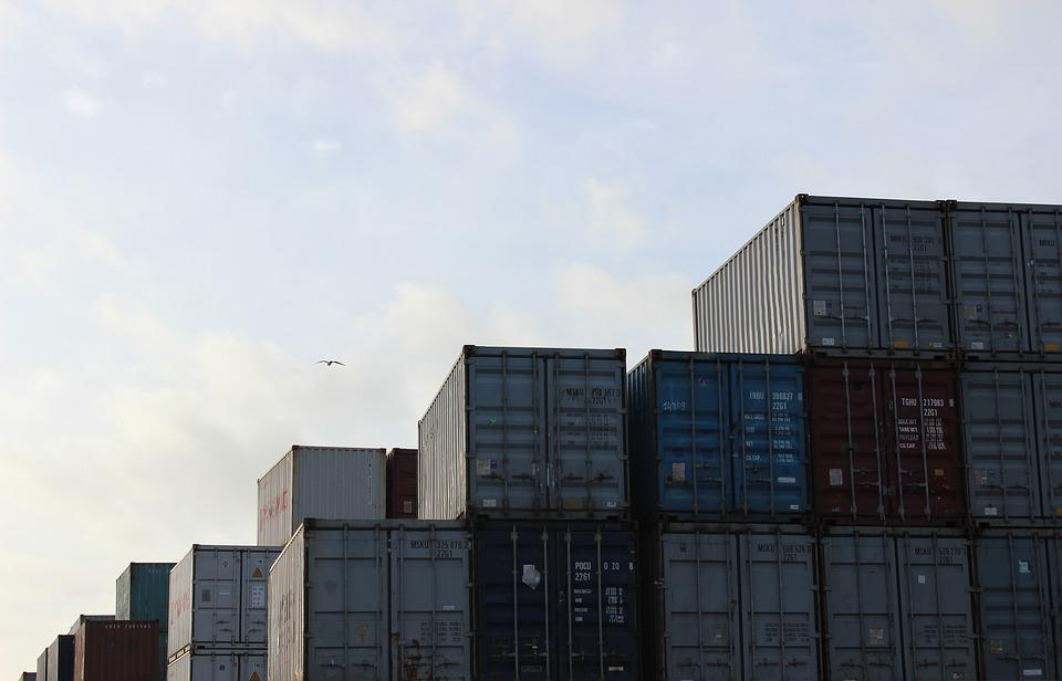 Shipping Container, Transport, Freight, Cargo