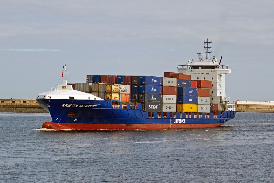 Shipping, Containers, Freight, Kristin Schepers