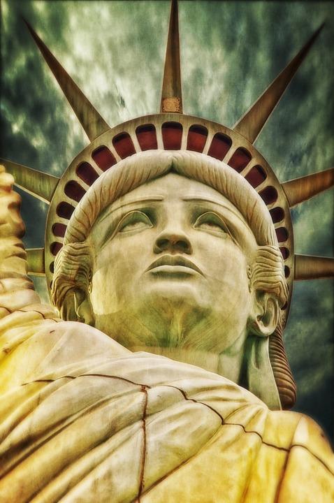 Liberty Statue, Freiheits Statue, New York, Usa