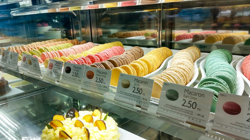 Macaron, Macaroon, Dessert, Colorful, Bakery, French