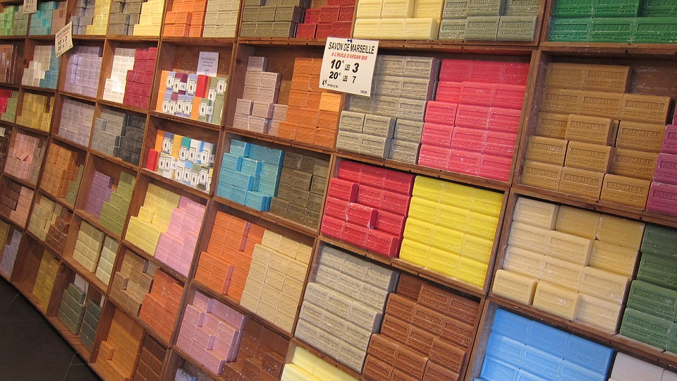 Soap, Soap Store, French, France, Market, Nice