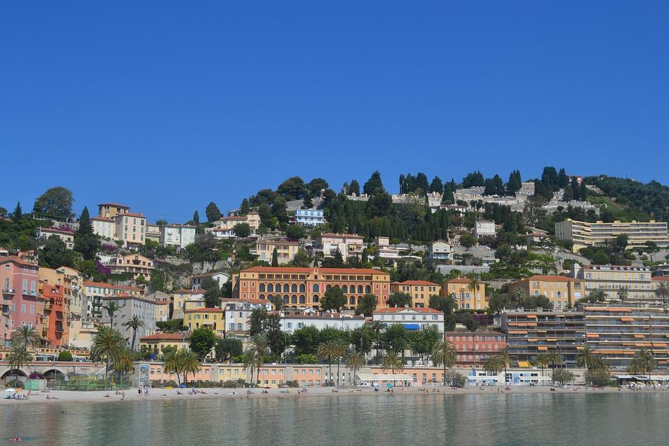 Chin, French Riviera, Mediterranean, France, Sunshine
