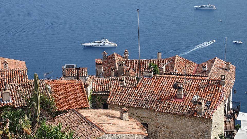 Eze Village, French Riviera, France, Mediterranean