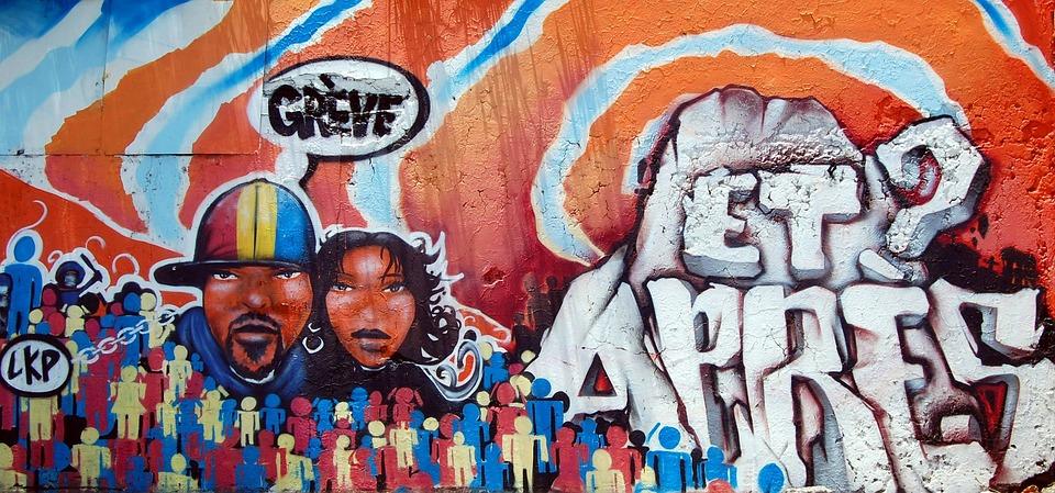 Street Art, Graffiti, Frescoes