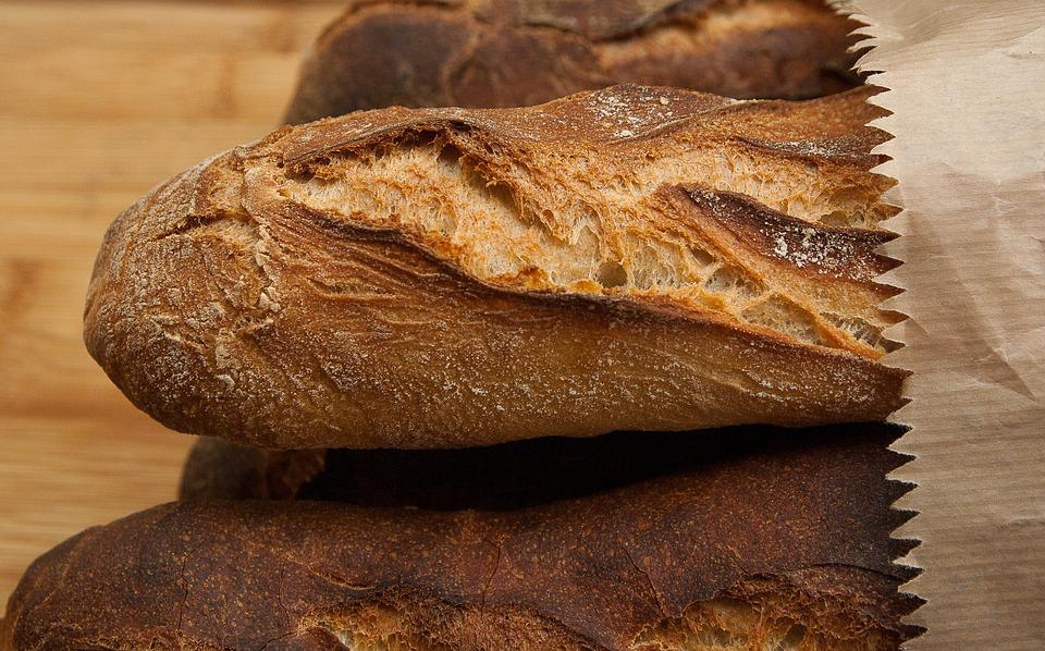 Bread, Food, Bakery, French, Baguettes, Fresh, Baked
