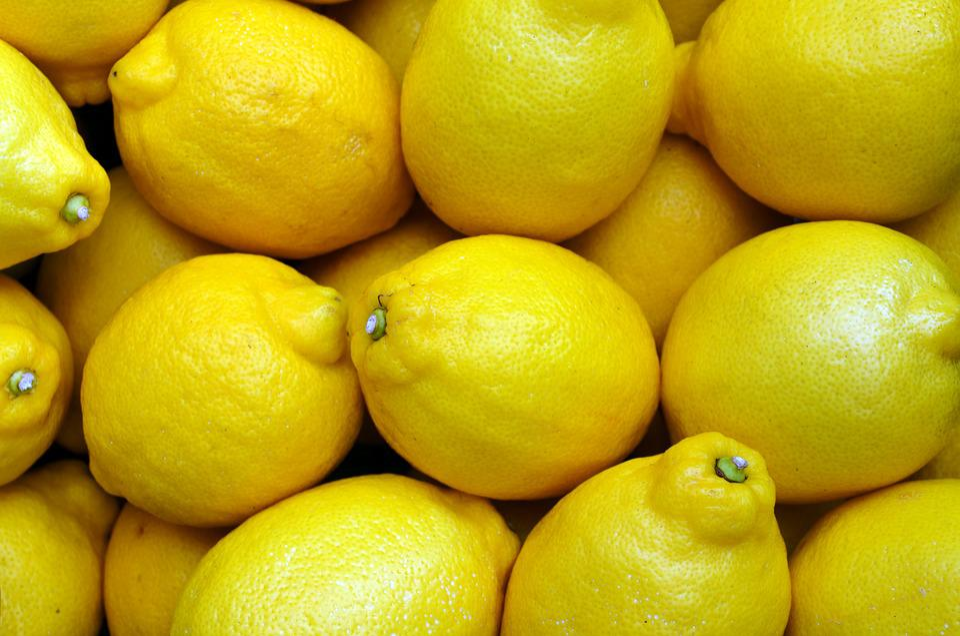 Lemons, Yellow, Food, Fruit, Fresh, Citrus, Organic