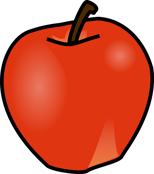 Apple, Red, Fruit, Food, Healthy, Fresh, Delicious