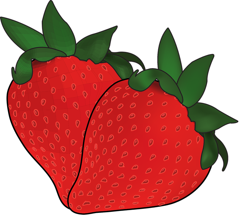 Strawberry, Fruit, Fresh, Food, Berry, Organic, Green