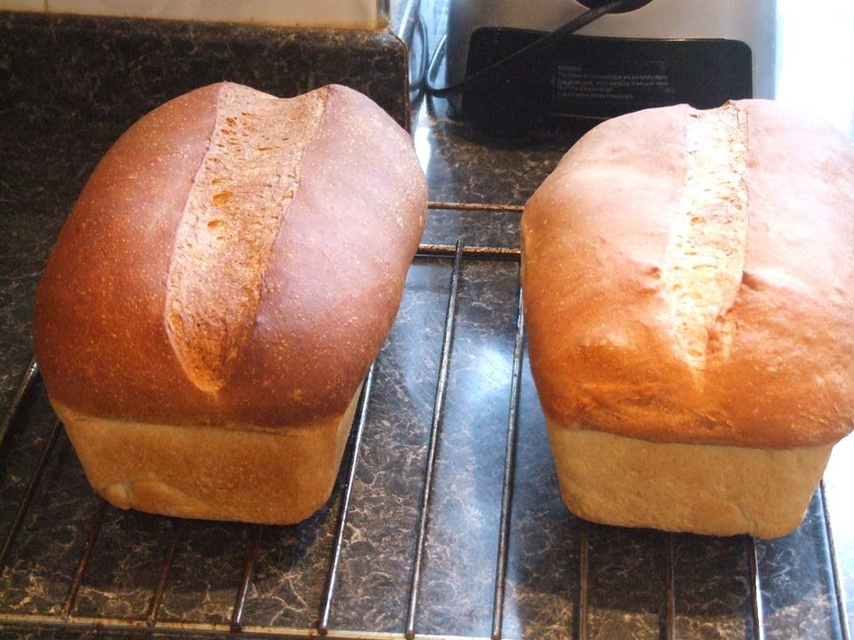 White, Bread, Loaf, Food, Fresh, Healthy, Wheat, Bakery