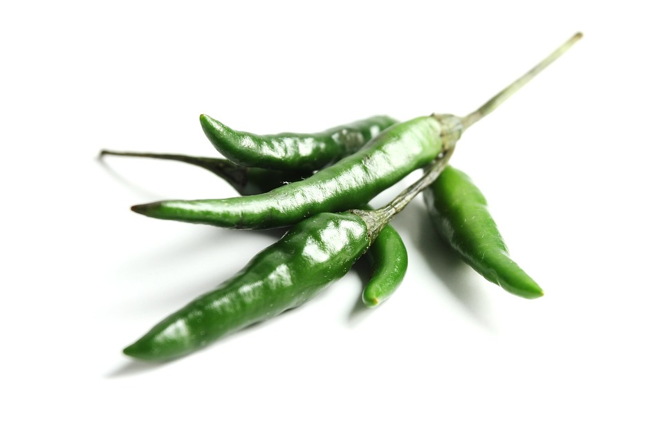 Green Chilli, Hot, Spicy, Healthy, Fresh, Organic