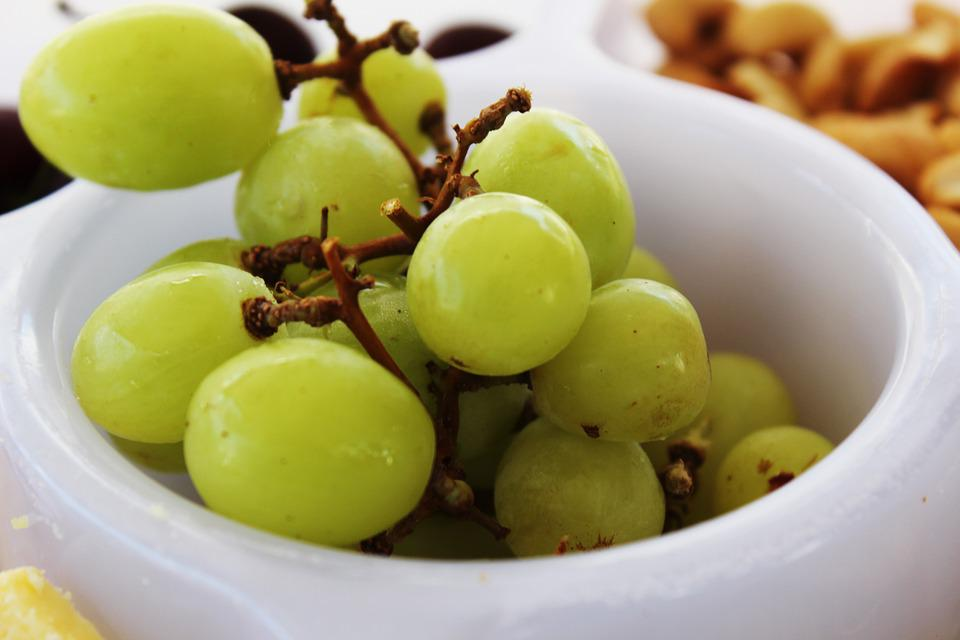 Green, Grapes, Fruit, Snack, Fresh, Food, Grape, Nature