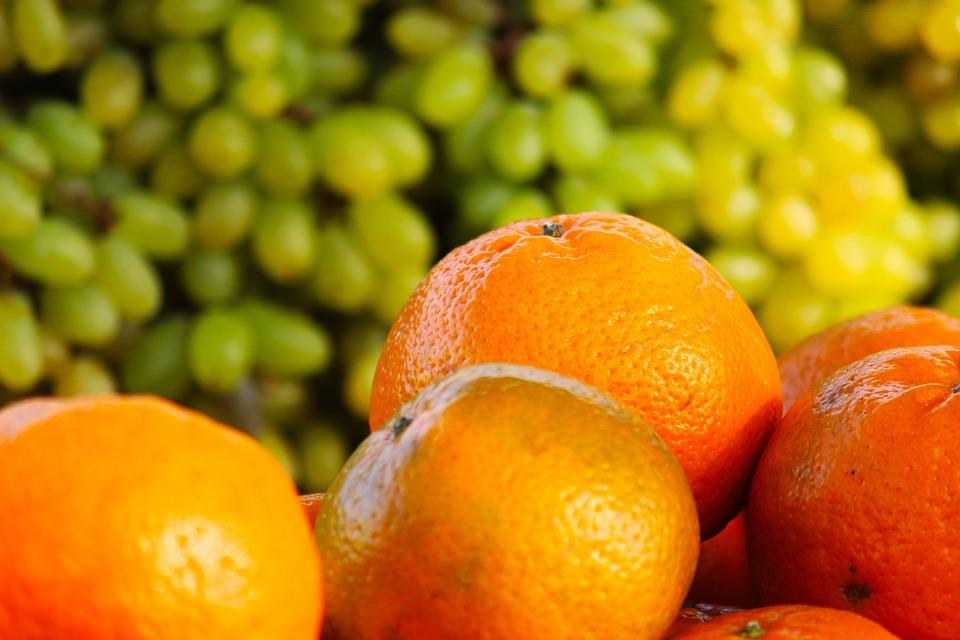 Fruits, Oranges, Grapes, Orange Fruit, Citrus, Fresh