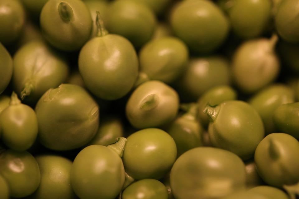 Peas, Vegetables, Green, Fresh, Food, Diet, Vegetarian
