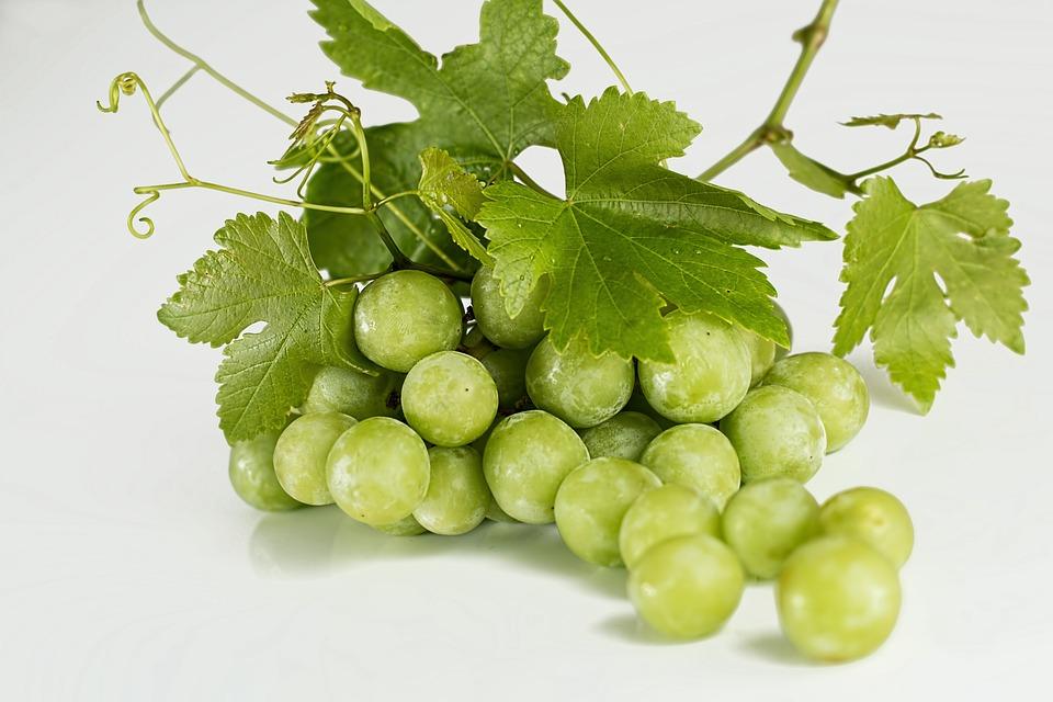 Grapes, Green, Fruit, Fresh, Bunch, Sweet, Ripe