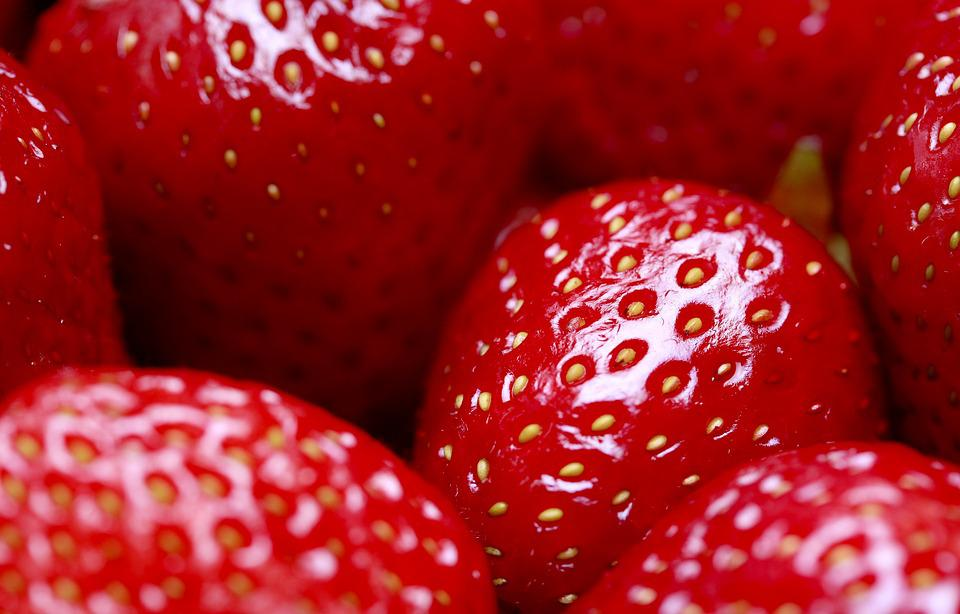 Strawberries, Fresh, Background, Red, Berry, Food, Ripe