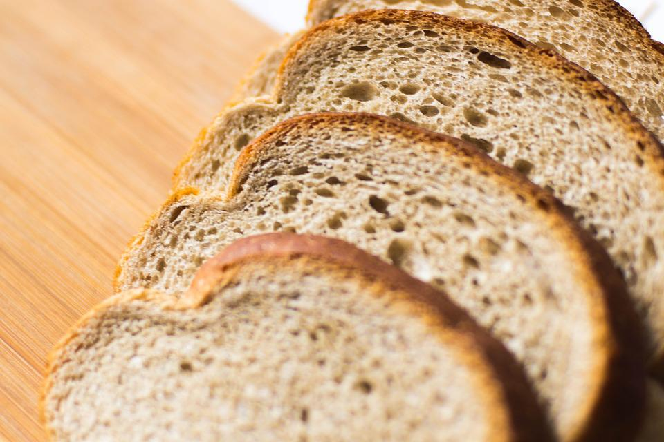 Bread, Slice, Food, Wheat, Fresh, Crust, Lunch, Eat