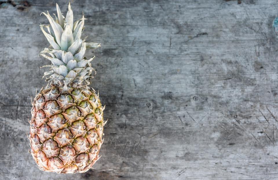 Pineapple, Fruit, Vintage, Food, Tropical, Fresh