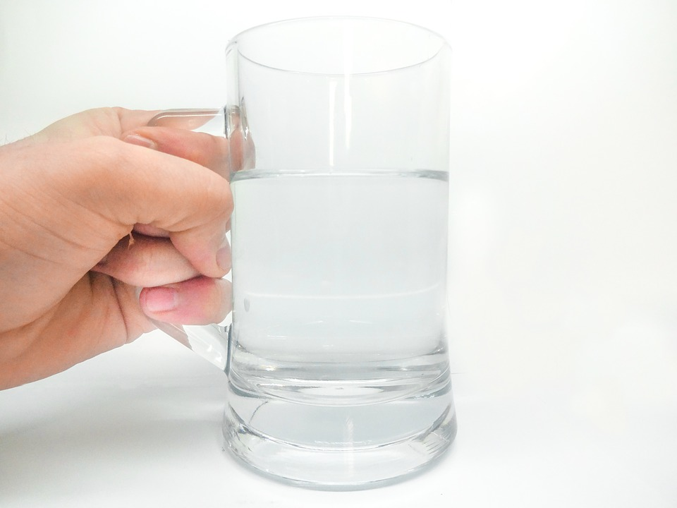 Water, Glass, Freshness, Drop Of Water, Hand, Drink