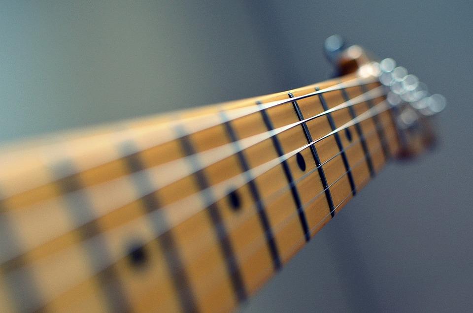 Guitar, Strings, Neck, Fret, Music, Fender, Instrument