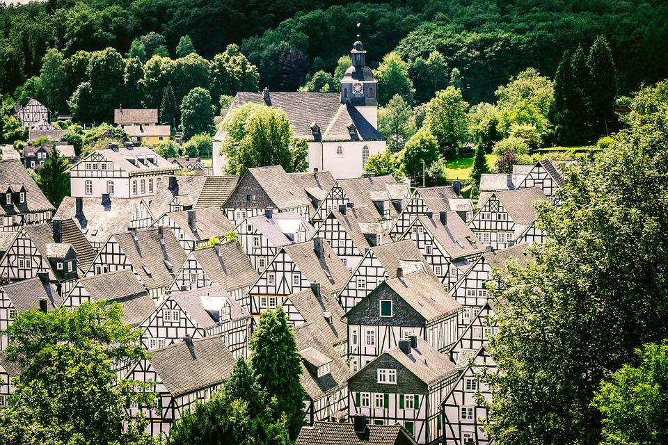 Freudenberg, Old Town, Village, Truss, Architecture