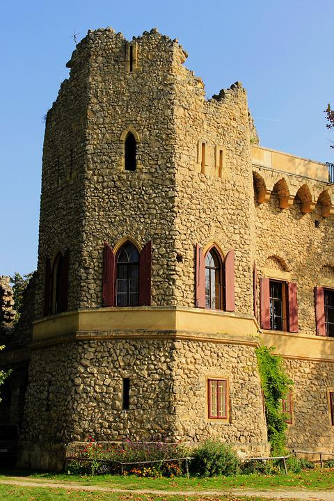Janův Castle, Fridge, Czech Republic, Tower, Ruins