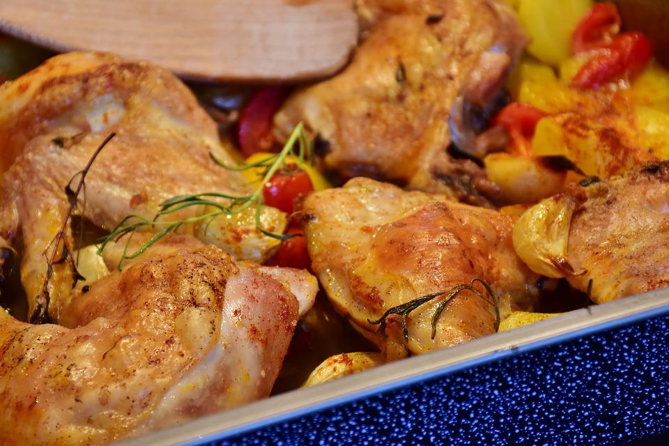 Free Photo Fried Cook Frisch Eat Oven Foods Chicken Food Max Pixel