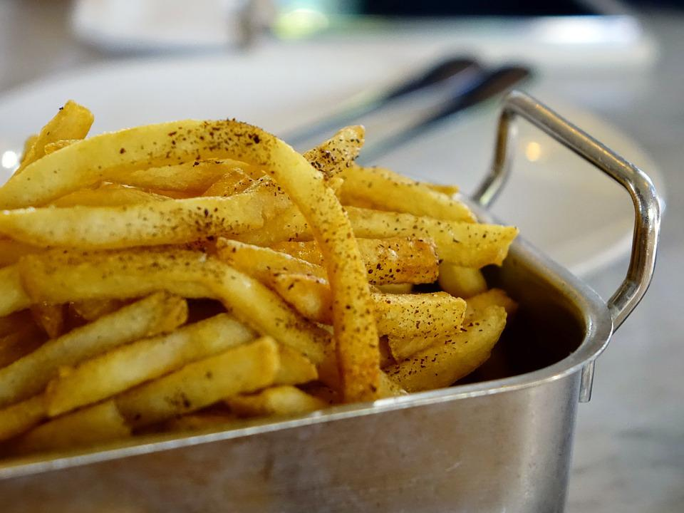 French Fries, Fried Potato, Snack, Junk Food, Food