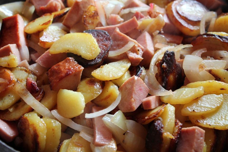 Fried Potatoes, Fry, Potatoes