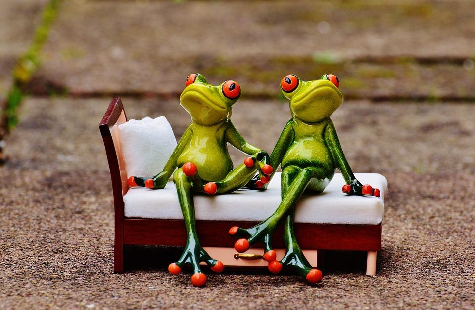 Friends, Sit, Bed, Rest, Break, Funny, Cute, Fun, Are