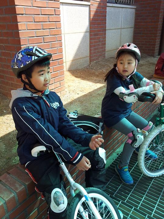 Unicycle, Friends, Children