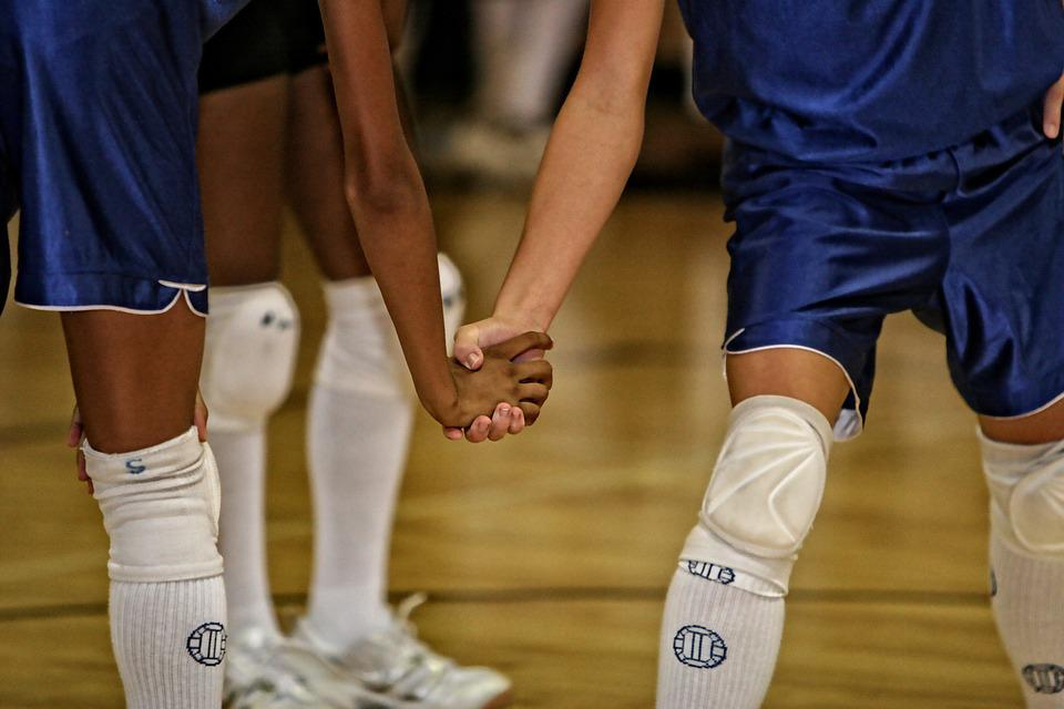 Volleyball, Team Mates, Friends, Mates, Together, Women