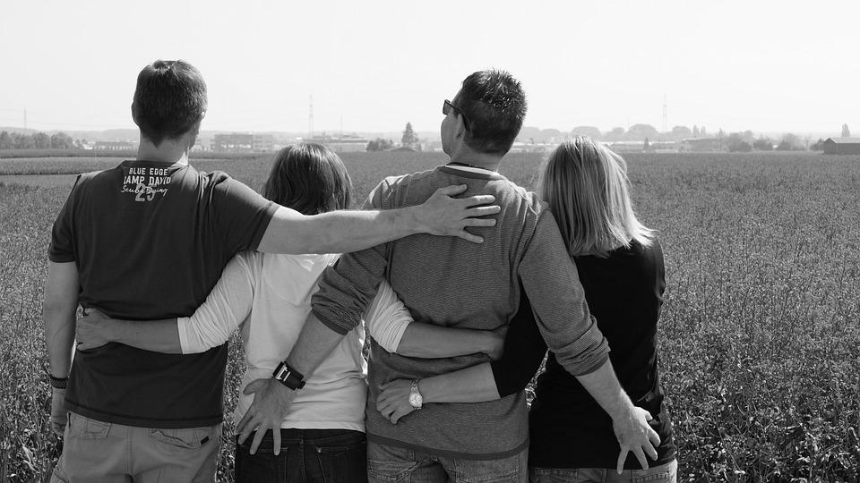 Friends, Friendship, Each Other Support, Move, Poor