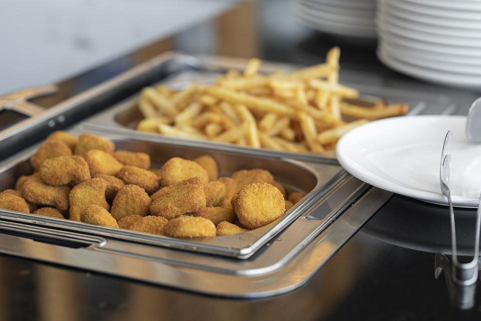 Chicken Nuggets, Nuggets, French Fries, Fries