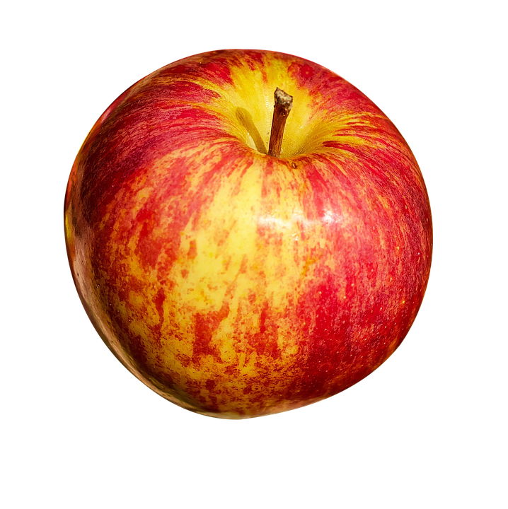 Apple, Isolated, Fruit, Healthy, Frisch