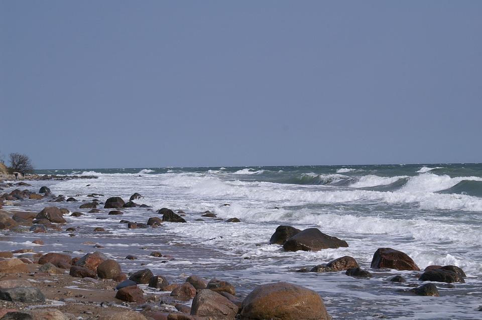 Water, Wave, Lake, Beach, Frisch, Baltic Sea