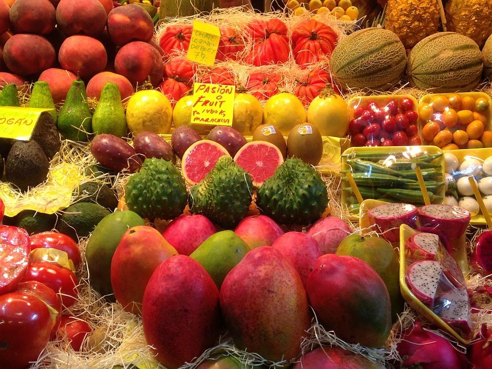 Color, Market, Market Stall, Colorful, Orange, Frisch