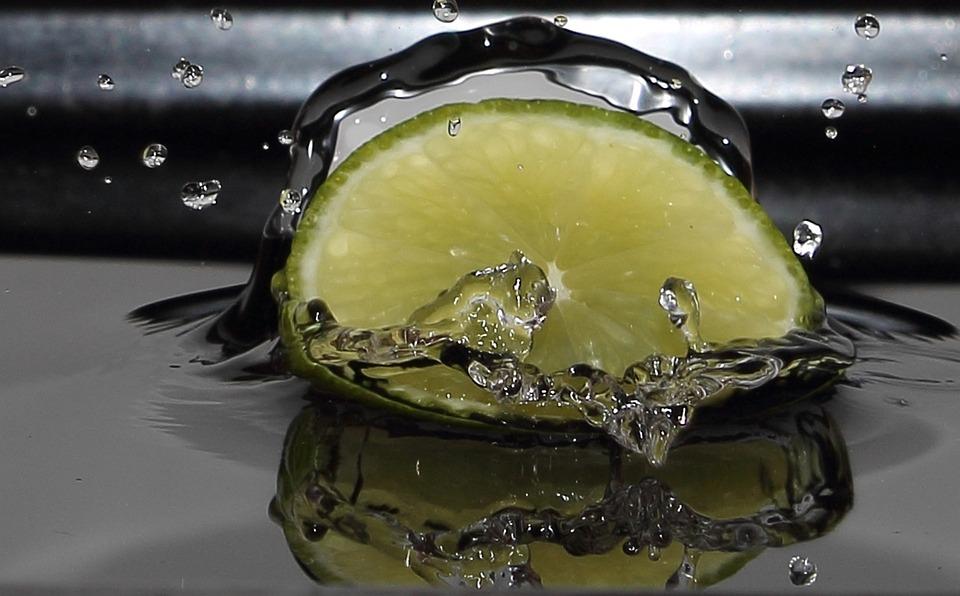 Limone, Water, Drip, Frisch, Fruit, Food