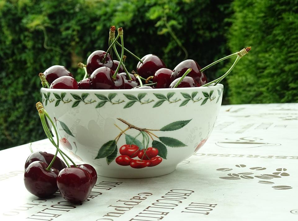 Cherries, Garden, Frisch, Fruits, Summer, Vitamin