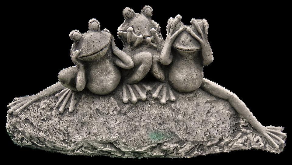 Frog, Figure, Frogs, Ceramic, Garden Figurines