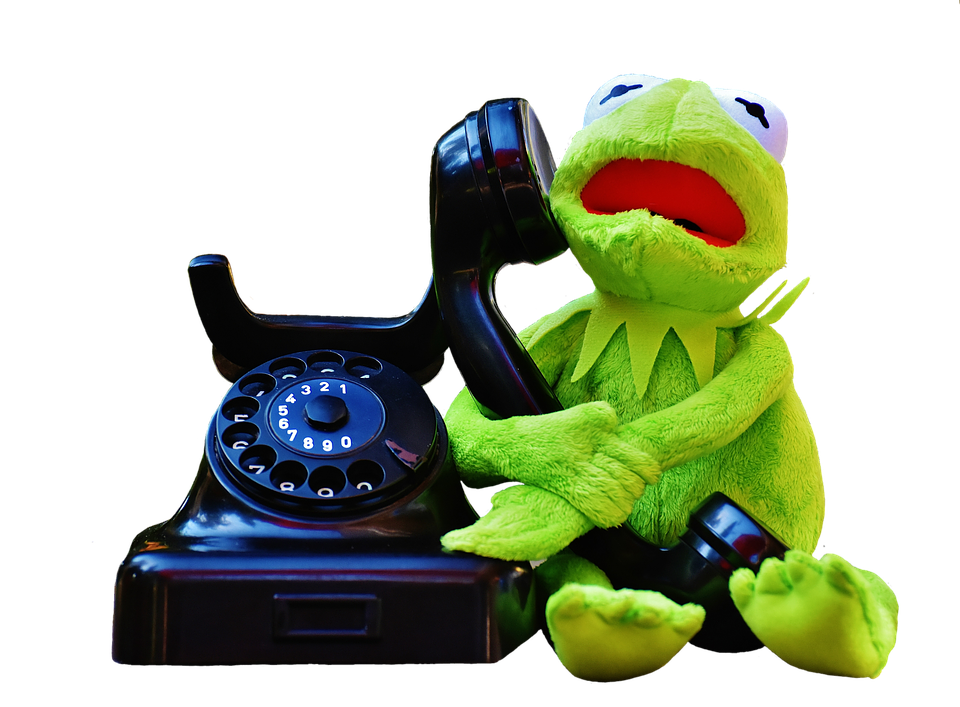 Kermit, Frog, Phone, Figure, Funny, Frogs, Animal