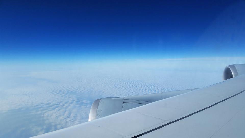 Aircraft, Above The Clouds, Travel, From The Plane