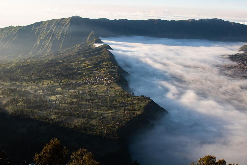 View, From, Top, Cloud, Dreamy, Mountain, Edge