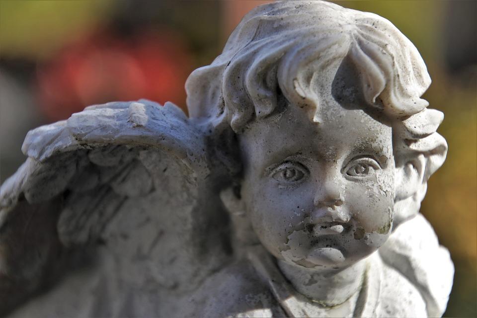 Fromm, Cemetery, Angel, Musings, Bereavement