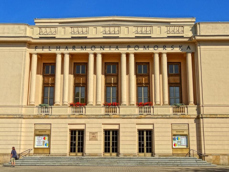 Filharmonia Pomorska, Front, Architecture, Concert Hall
