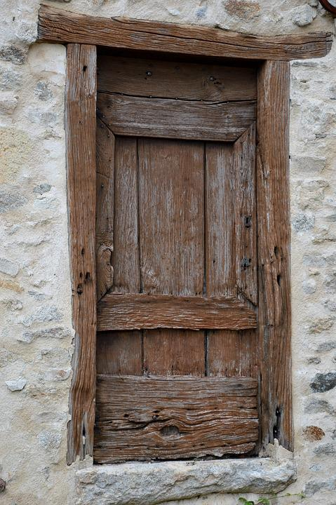 Old Door, Old Wood, Front Door