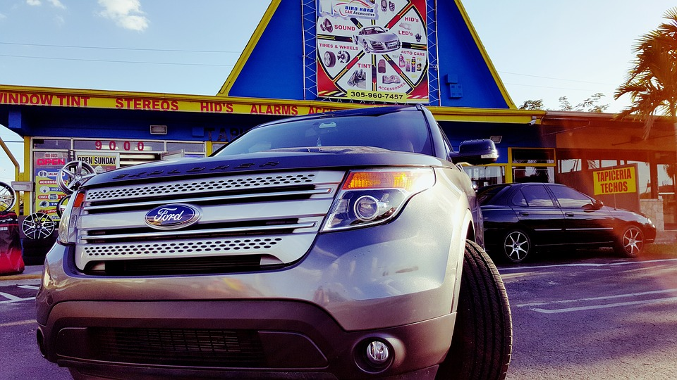 Ford, F-150, Hd, Car, Auto, Front Light, Radiator