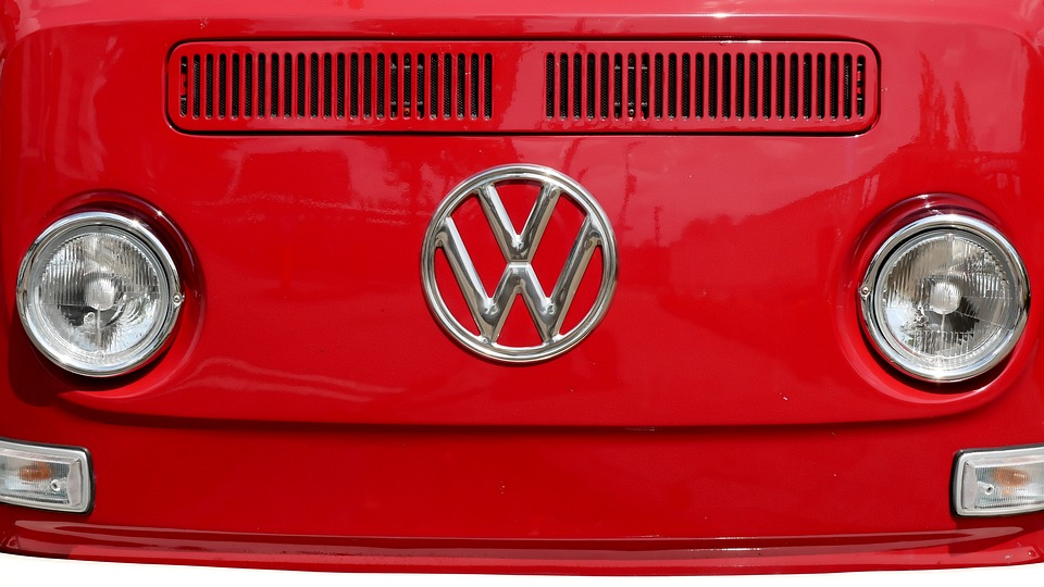 Frontal, Front, Vw Bus T2, Vw Logo, Front View