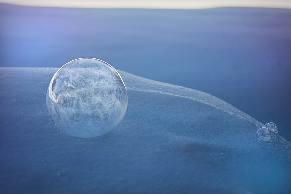 Frozen Bubble, Bubble, Ice, Frosted, Frosty, Frost