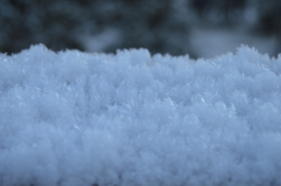Ice Crystals, Snow, Frost, Cold, Snowflake, Texture